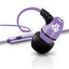 Metal Earbuds purper