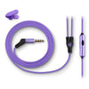 Metal Earbuds violetti johto