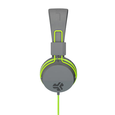 Neon On-Ear Headphones em verde