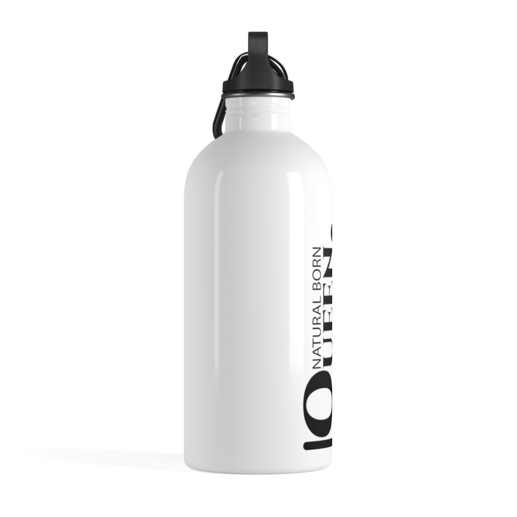 Natural Born Queen - Stainless Steel Water Bottle
