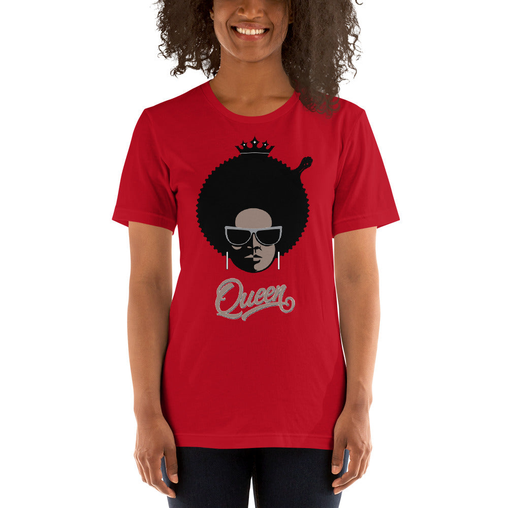 Queen Angie - Short-Sleeve Unisex T-Shirt