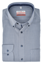 Laden Sie das Bild in den Galerie-Viewer, Marvelis Herren Businesshemd Modern Fit Vichykaro Button-Down
