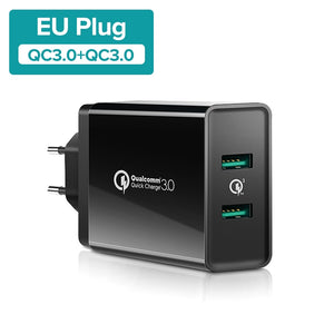 Carregador Turbo Charge - Duplo USB 3.0