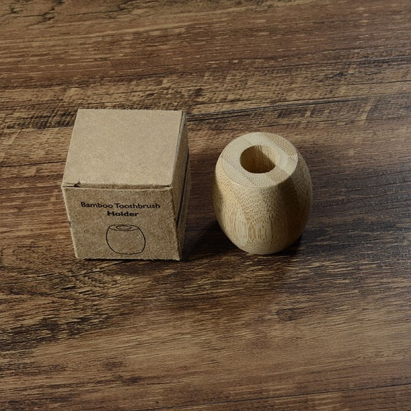 Eco-friendly Bamboo Toothbrush Holder - Smallbamboo