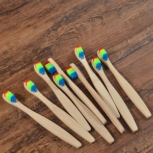 New Design Eco-friendly Bamboo Toothbrush - Smallbamboo