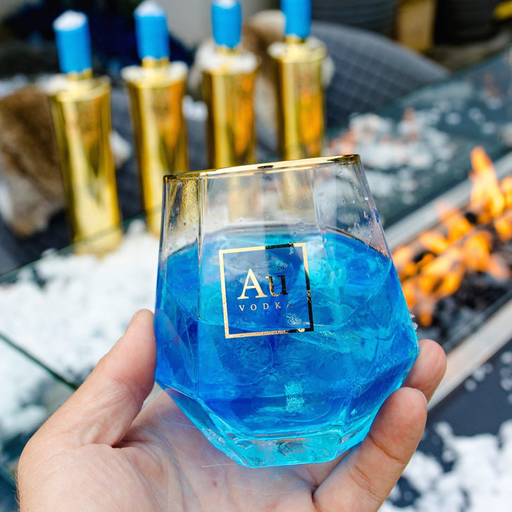 Au Vodka Blue Raspberry Flavour - Au Vodka