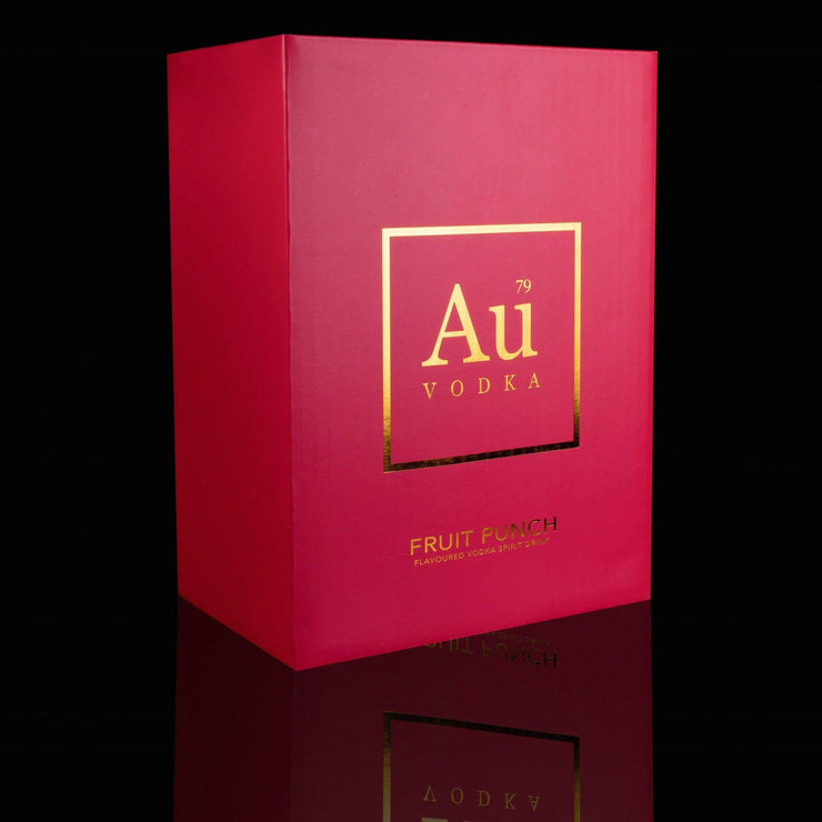 Au Vodka Fruit Punch Flavour Case of 6 - Au Vodka