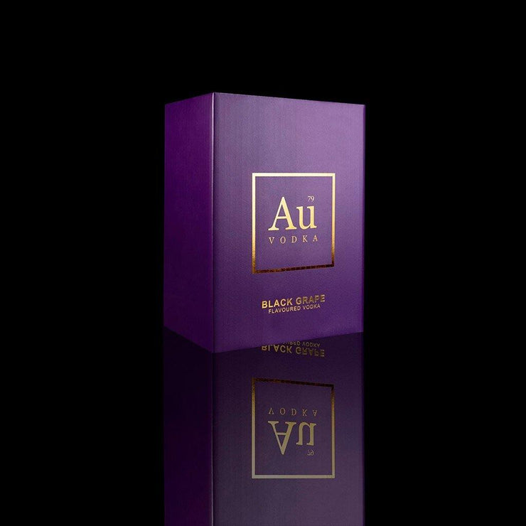 WHOLESALE CASE OF AU BLACK GRAPE - Au Vodka