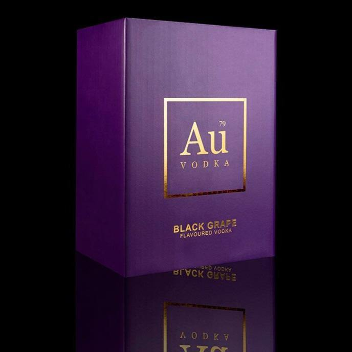 Au Black Grape Case of 6 - Au Vodka