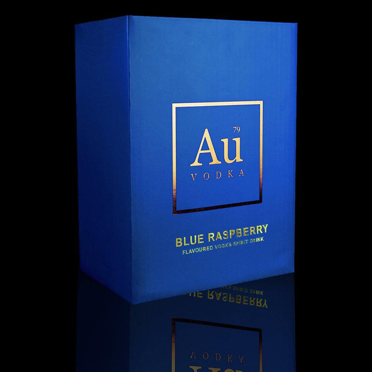 Au Blue Raspberry Case of 6 - Au Vodka