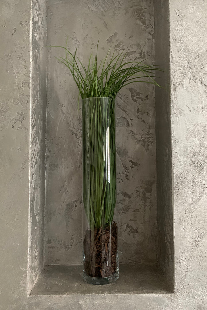 Grasses in a Glass Cylinder (Large)