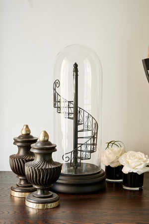Staircase in a cloche