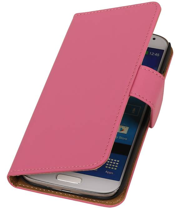 Samsung Galaxy Young S6310 Roze | bookstyle / book case/ wallet case Hoes  | WN™ - hoesjeshoek