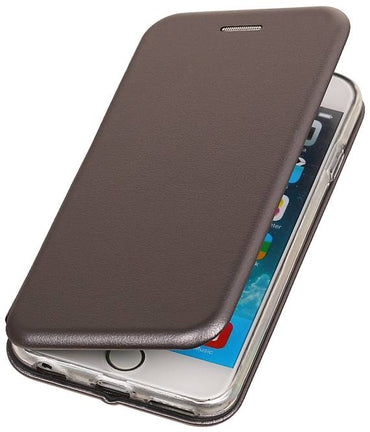 iPhone 6 Grijs | Slim Folio Case  | WN™ - hoesjeshoek