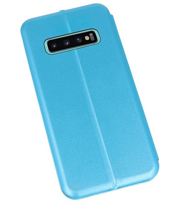Samsung Samsung Galaxy S10 Plus Blauw | Slim Folio Case  | WN™ - hoesjeshoek