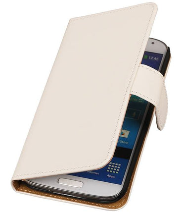 Acer Liquid E3 Wit | bookstyle / book case/ wallet case Hoes  | WN™ - hoesjeshoek