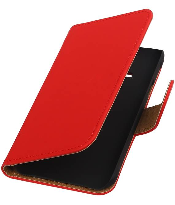 Samsung galaxy j1 2015 Ace Rood | bookstyle / book case/ wallet case Hoes  | WN™ - hoesjeshoek