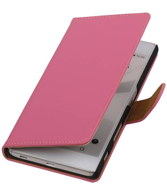 sony Xperia C5 Roze | bookstyle / book case/ wallet case Hoes  | WN™ - hoesjeshoek