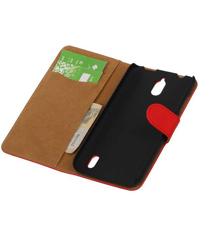 Huawei Huawei Ascend Y625 Rood | bookstyle / book case/ wallet case Hoes  | WN™ - hoesjeshoek