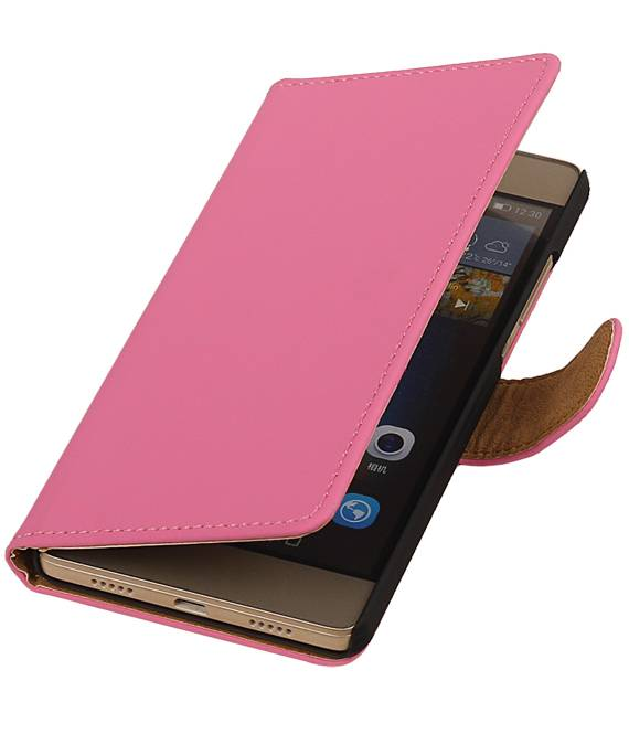 Huawei Huawei Ascend Y530 Roze | bookstyle / book case/ wallet case Hoes  | WN™ - hoesjeshoek
