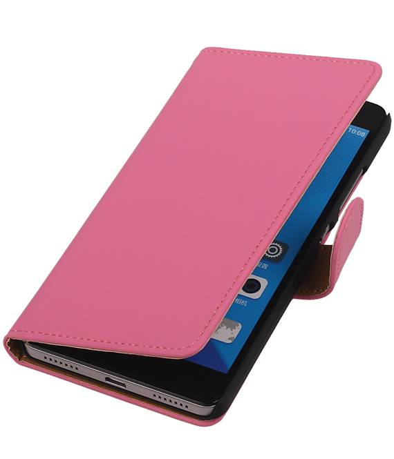 Huawei Nexus 6P Roze | bookstyle / book case/ wallet case Hoes  | WN™ - hoesjeshoek
