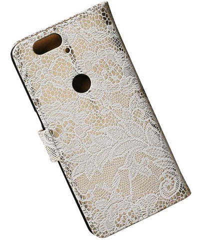 Huawei Nexus 6P Zwart | Lace bookstyle / book case/ wallet case Hoes  | WN™ - hoesjeshoek