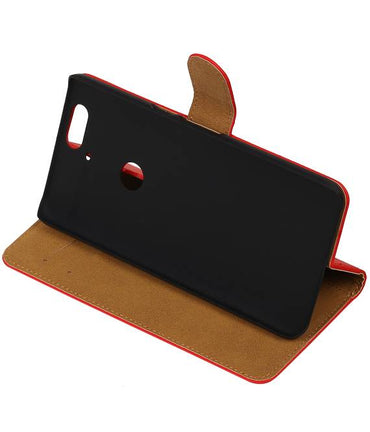 Huawei Nexus 6P Rood | bookstyle / book case/ wallet case Hoes  | WN™ - hoesjeshoek
