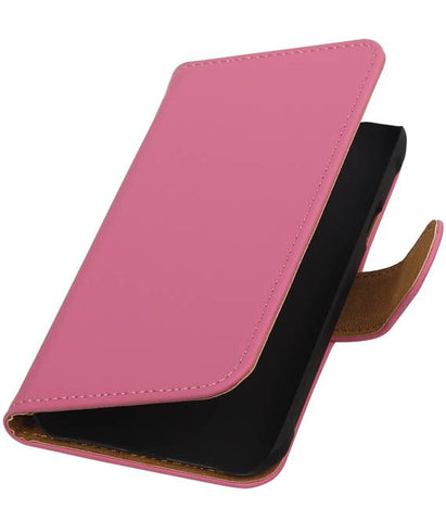 Samsung galaxy j1 2015 Ace Roze | bookstyle / book case/ wallet case Hoes  | WN™ - hoesjeshoek