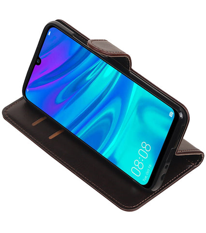 Huawei Honor 10 Lite Mocca | Premium bookstyle / book case/ wallet case  | WN™ - hoesjeshoek