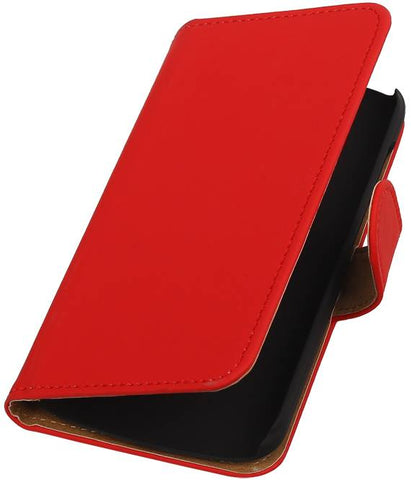Huawei Huawei Ascend Y540 Rood | bookstyle / book case/ wallet case Hoes  | WN™ - hoesjeshoek