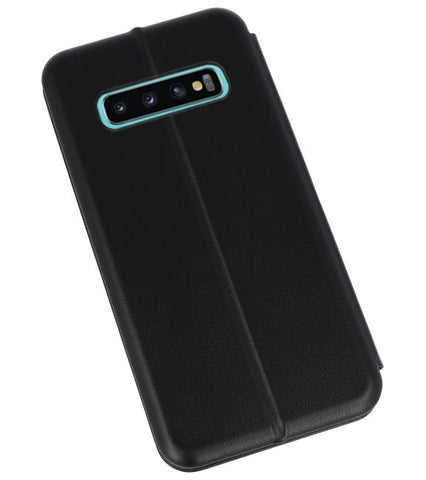 Samsung Samsung Galaxy S10 Plus Zwart | Slim Folio Case  | WN™ - hoesjeshoek