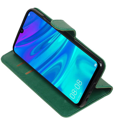 Huawei Honor 10 Lite Groen | Premium bookstyle / book case/ wallet case  | WN™ - hoesjeshoek