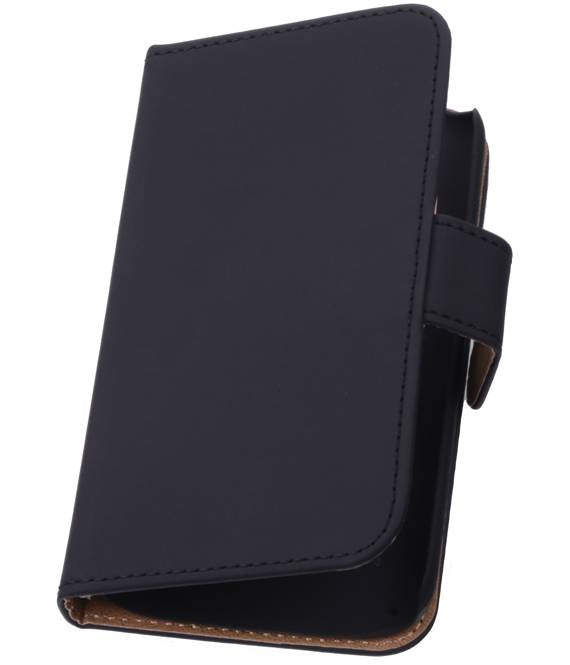Samsung Galaxy Xcover 2 S7710 Zwart | bookstyle / book case/ wallet case Hoes  | WN™ - hoesjeshoek