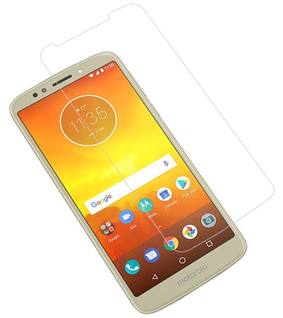 Motorola Moto E5 | Tempered glass/ beschermglas/ screenprotector  | WN™ - hoesjeshoek