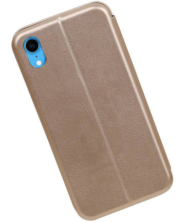 iPhone XR Goud | Slim Folio Case  | WN™ - hoesjeshoek