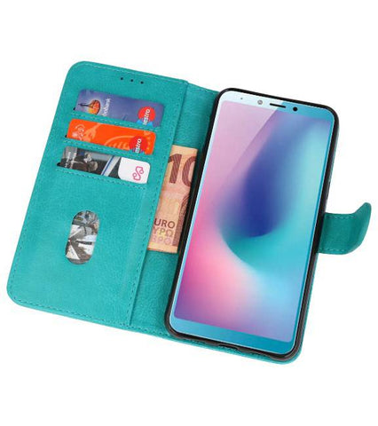 Honor View 20 Groen | bookstyle / book case/ wallet case Wallet Cases Hoes  | WN™ - hoesjeshoek