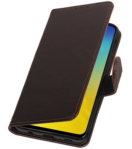 Samsung Samsung Galaxy S10e Mocca | Premium bookstyle / book case/ wallet case  | WN™ - hoesjeshoek