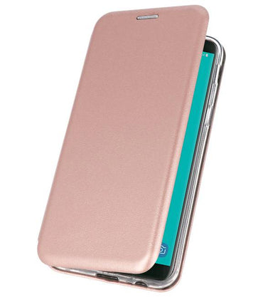 Samsung Galaxy J6 2018 Roze | Slim Folio Case  | WN™ - hoesjeshoek