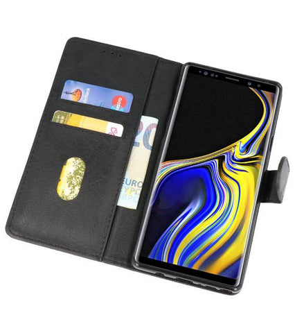 Samsung Galaxy Note 9 Zwart | bookstyle / book case/ wallet case Wallet Cases Hoes  | WN™ - hoesjeshoek