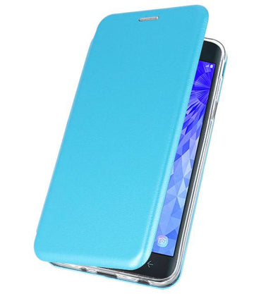 Samsung Galaxy J7 2018 Blauw | Slim Folio Case  | WN™ - hoesjeshoek