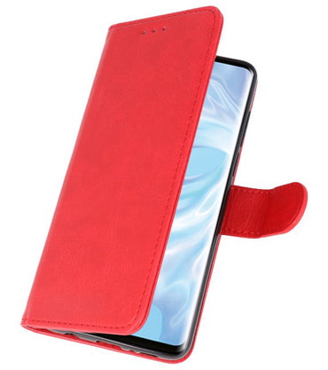 Huawei P30 Pro Rood | bookstyle / book case/ wallet case Wallet Case Hoesje  | WN™ - hoesjeshoek