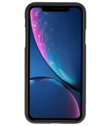 iPhone XR Zwart | Backcover Siliconen  Hoesje  | WN™ - hoesjeshoek