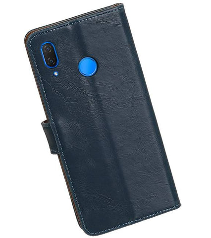 Huawei P Smart Plus Blauw | Premium bookstyle / book case/ wallet case  | WN™ - hoesjeshoek