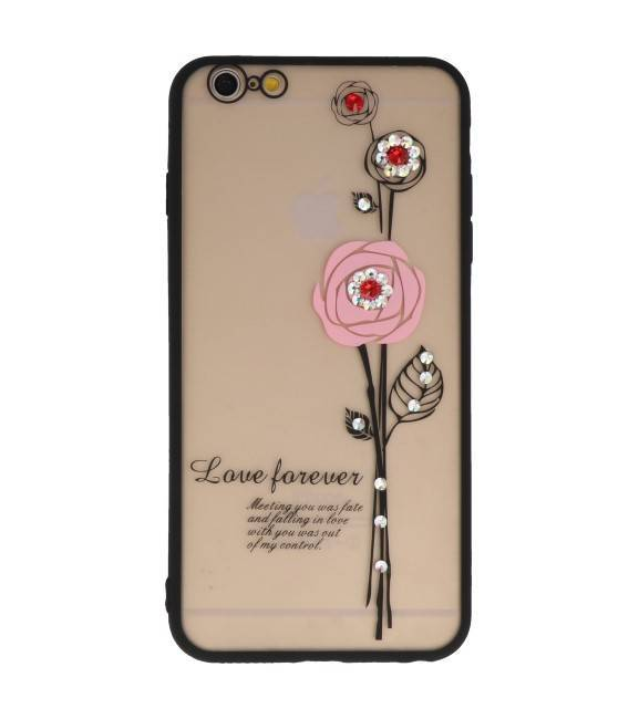iPhone 6 / 6s Plus Roze | Love Forever Hoesjes  | WN™ - hoesjeshoek