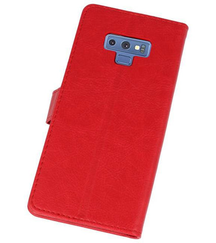 Samsung Galaxy Note 9 Rood | bookstyle / book case/ wallet case Wallet Cases Hoes  | WN™ - hoesjeshoek
