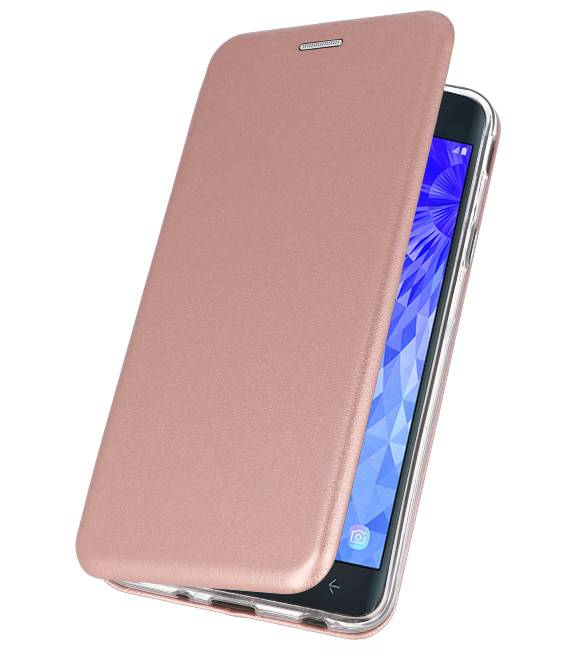Samsung Galaxy J7 2018 Roze | Slim Folio Case  | WN™ - hoesjeshoek