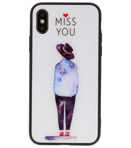 iPhone XS Miss You | Print Hardcase  | WN™ - hoesjeshoek