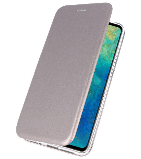 Huawei Mate 20 Grijs | Slim Folio Case  | WN™ - hoesjeshoek