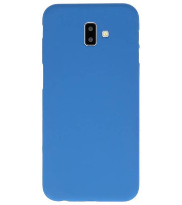 Samsung Samsung Galaxy J6 Plus Navy | Backcover Siliconen  Hoesje  | WN™ - hoesjeshoek