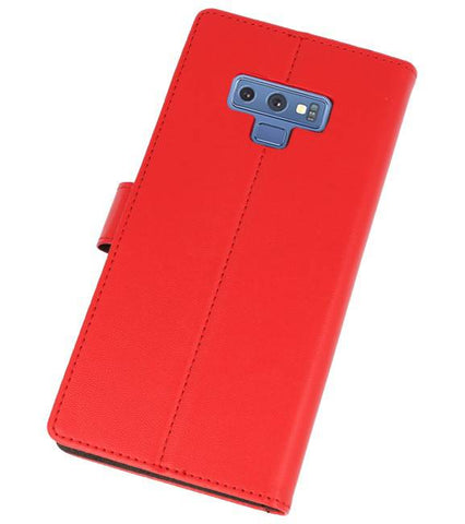 Samsung Galaxy Note 9 Rood | Wallet Case Hoesje  | WN™ - hoesjeshoek